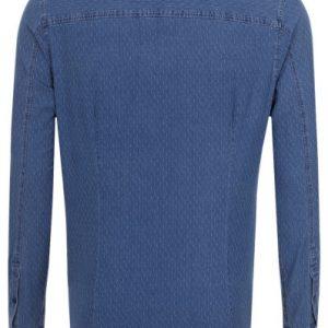 Calvin Klein J30J304650 Slim-fit Denim Skjorta