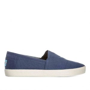 Toms Avalon Navy Canvas