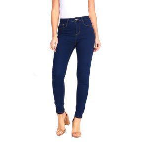Brave Soul 343-LUCY Blue Skinny Jeans
