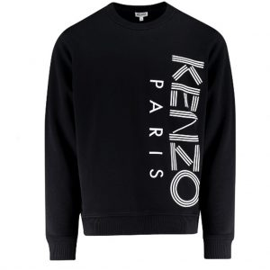 Kenzo 5SW132 Vertical Logo Printed Sweatshirt