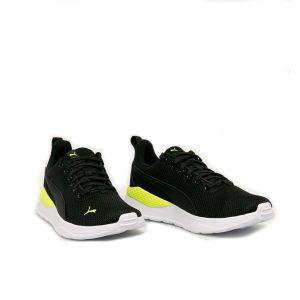 Puma Anzarun Lite Black Yellow Alert White
