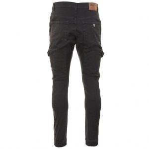 Guess New Kompat Slim Fit Mid Rise Cargo Pants