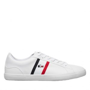 Lacoste LEROND White/RED/Navy Sneakers